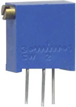 Potentiomètre variable 50 kΩ Weltron 001045026206 réglage horizontal 12 tours linéaire 0.25 W 1 pc(s)