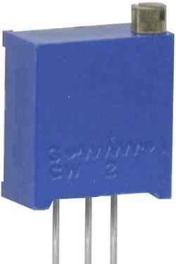 Potentiomètre variable 100 kΩ Weltron 001045026343 réglage vertical 25 tours, in-line linéaire 0.5 W 1 pc(s)