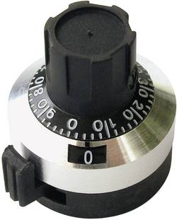 Tête de bouton rotatif Bourns H-5166A compteur (Ø x L) 22.7 mm x 25 mm 1 pc(s)