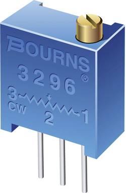 Potentiomètre variable 500 kΩ Bourns 3296X-1-504LF réglage horizontal 25 tours linéaire 0.5 W 1 pc(s)