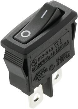 SCI Interrupteur à bascule R13-243F-02 250 V/AC 4 A