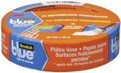 Ruban de masquage ScotchBlue™ 3M 7000049411 bleu (L x l) 25 m x 24 mm 1 rouleau(x)