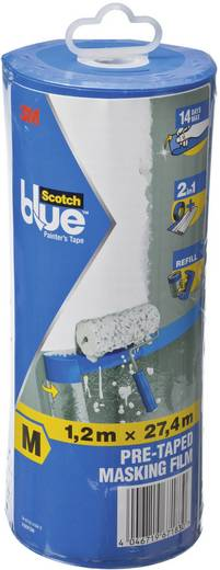 Film de masquage ScotchBlue™ 3M PTD2093EL-48-S transparent (L x l) 27.4 m x 1.2 m 1 pc(s)
