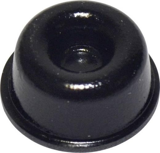 Pied d'appareil TOOLCRAFT PD2210SW autocollant, rond noir (Ø x h) 22.3 mm x 10.1 mm 1 pc(s)
