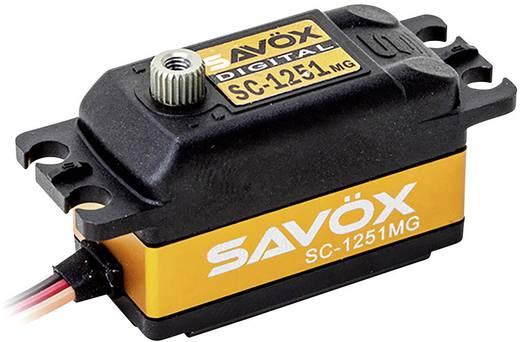 Servo standard numérique Savöx SC-1251MG 80101007 1 pc(s)