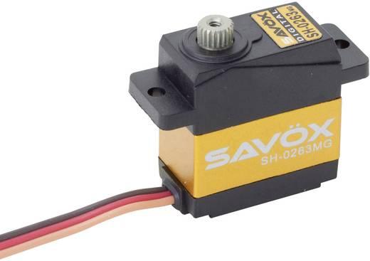Mini-servo numérique Savöx SH-0263MG 80101013 1 pc(s)