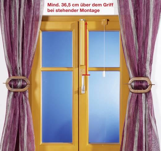 Fermeture de porte automatique numérique WinFlip marron, beige