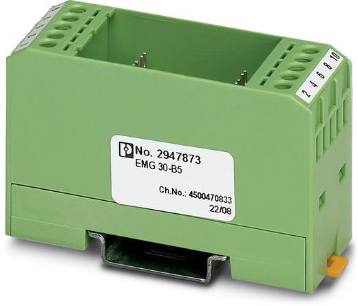 Boîtier pour rail Phoenix Contact EMG 30-B5 2947873 plastique 10 pc(s)