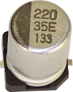 Condensateur électrolytique CMS 220 µF 3 V Teapo VEV227M6R3S0ANG03K (Ø x h) 8 mm x 6.2 mm 20 % 1 pc(s)