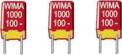 Condensateur polypropylène FKS 1500 pF 100 V/DC Wima FKS3D011502B00MI00 20 % Pas: 7.5 mm (L x l x h) 10 x 3 x 8.5 mm 22