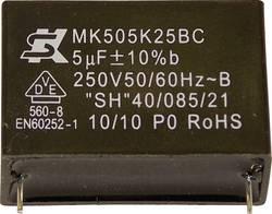Condensateur polypropylène MKP sortie radiale 1 µF 450 V 10 % Seika MK450K105 (Ø x h) 22 mm x 13 mm 32.5 mm 1 pc(s)