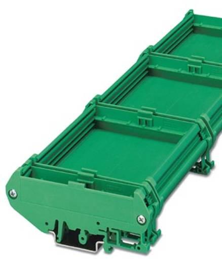 Elément latéral de boîtier pour rail Phoenix Contact UM108-SEFE/L BK 2735768 plastique 10 pc(s)