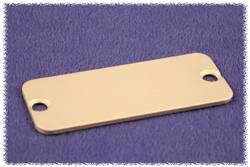 Plaque arrière Hammond Electronics 1455JAL-10 aluminium naturel (L x l x h) 1.5 x 78 x 27 mm