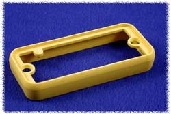 Cadre Hammond Electronics 1455TBY ABS jaune (L x l x h) 8 x 160 x 51.5 mm