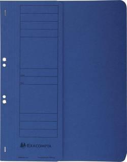 Chemise à oeillets Exacompta / 351607B, bleu, A4, 250 g/m²