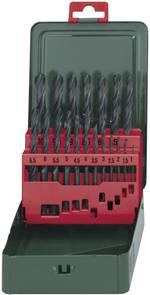 HSS Set de forets pour le métal 19 pièces Metabo 627151000 laminé au rouleau DIN 338 tige cylindrique 1 set