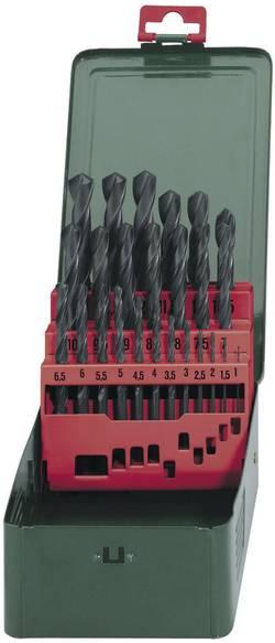 HSS Set de forets pour le métal 25 pièces Metabo 627152000 laminé au rouleau DIN 338 tige cylindrique 1 set