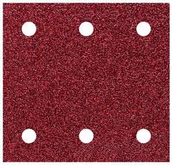 Set de papiers abrasifs pour ponceuse vibrante avec bande auto-agrippante, perforé Wolfcraft 1761000 Grain 60, 120, 240