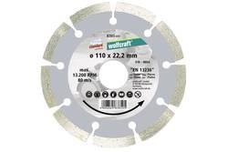 """1 disque diamant à tronçonner """"Standard-Universal"""" Wolfcraft 8385000"""