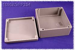 Plaque d'insertion Hammond Electronics 1590ZGRP234PL Tôle d'acier naturel
