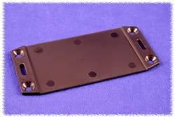 Plaque pour presse-étoupes Hammond Electronics 1591FEBK ABS noir (L x l) 220 mm x 107 mm