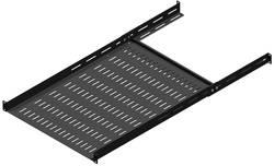 Compartiment ventilé Hammond Electronics RMASV1930BK1 Tôle d'acier noir (L x l x h) 44 x 483 x 762 mm