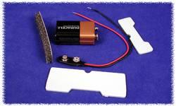 Support batterie 1 x 9 V 6LR61 Hammond Electronics BS61 plastique noir 1 pc(s)