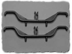 Pied de montage pliable Hammond Electronics M3784-7001 Polyamide noir (L x l x h) 48 x 20 x 30 mm 2 pc(s)