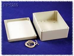 Boîtier universel Hammond Electronics RP1280 Polycarbonate gris 186 x 146 x 75 1 pc(s)