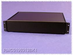Boîtier universel Hammond Electronics RMCS19018BK1 aluminium noir 432 x 203 x 21 1 pc(s)