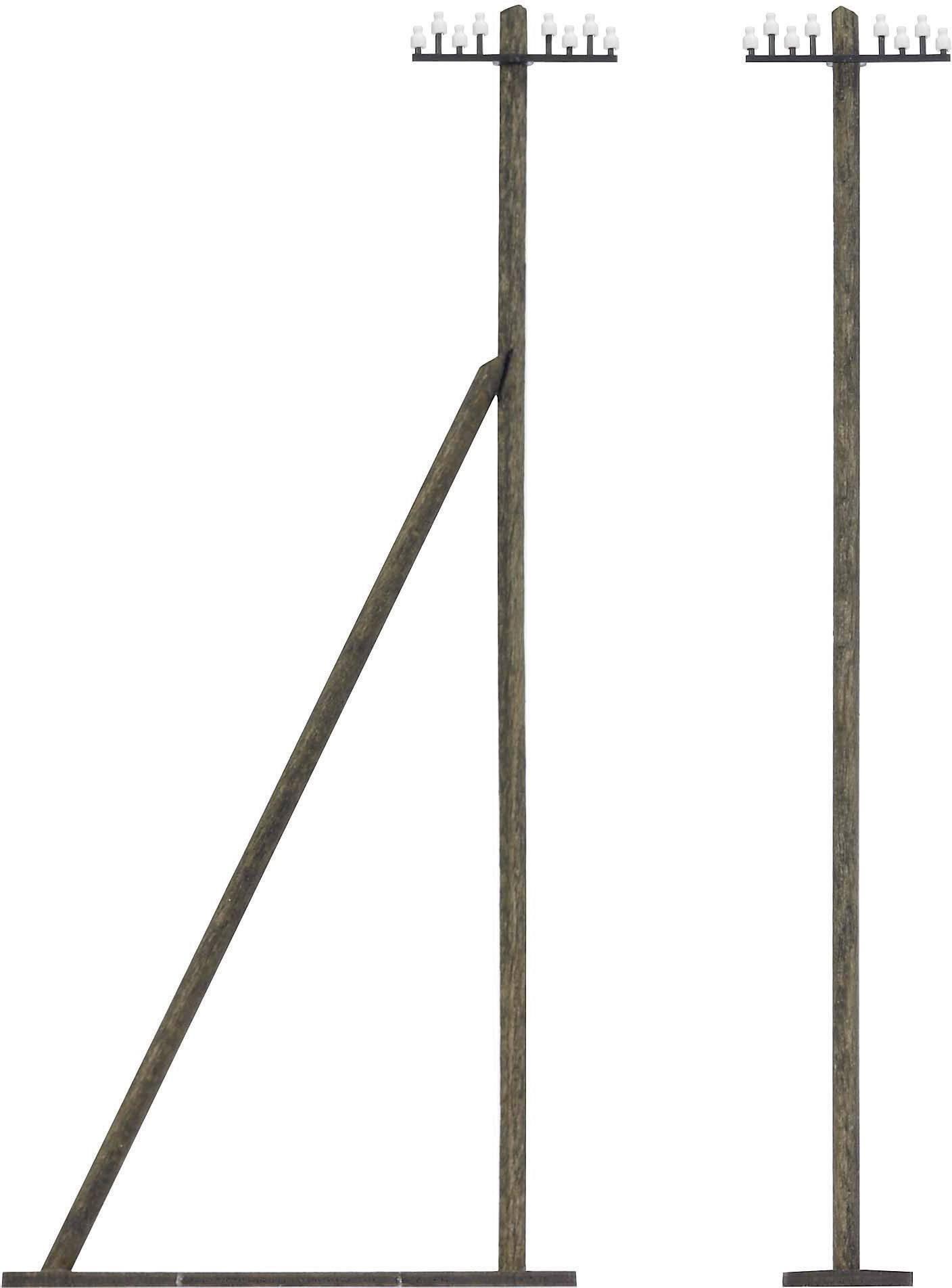Busch 1499 h0 Poteaux télégraphiques