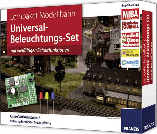 Franzis Verlag 978-3-645-6109-7 Lernpaket Beleuchtung Weiß, Bunt