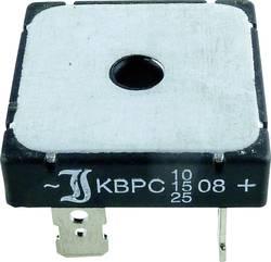 Diotec KBPC10/15/2504FP Pont redresseur KBPC 400 V 25 A Monophasé