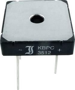 Pont redresseur Diotec KBPC10/15/2502WP 200 V 25 A Monophasé KBPC 1 pc(s)