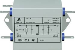 Filtre antiparasite Epcos B84112BB30 ignifugé 250 V/AC 3 A 10 mH (L x l x h) 76.5 x 45 x 28.6 mm 1 pc(s)