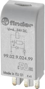 Module enfichable avec LED, avec varistance Finder 99.02.0.024.98 Adapté pour série: Finder série 90, Finder série 92,