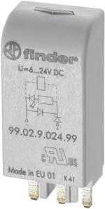 Module enfichable avec circuit RC Finder 99.02.0.230.09 Adapté pour série: Finder série 90, Finder série 60 Adapté pour