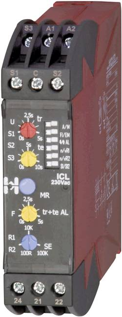 Contrôle du niveau de liquides conducteurs 24 V/AC 2 x 1 inverseur Hiquel ICL 24Vac
