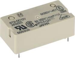 Relais pour circuits imprimés Panasonic ST112F 12 V/DC 8 A 1 NO (T), 1 NF (R) 1 pc(s)