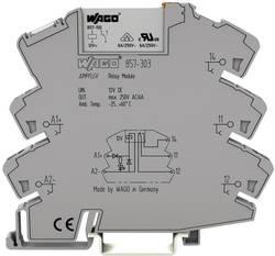 Bloc relais WAGO 857-318 Tension nominale: 220 V/DC Courant de commutation (max.): 0.05 A 1 inverseur (RT) 1 pc(s)