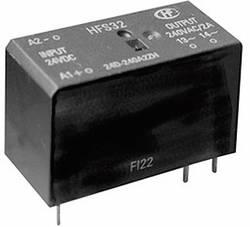 Relais à semi-conducteur avec commutateur tension nulle commande 19.2 - 28.8 V/DC Hongfa