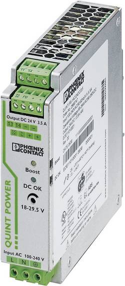Alimentation rail DIN Phoenix Contact QUINT-PS/24DC/12DC/ 8 18 V/DC 8 A 1 x