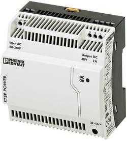 Alimentation rail DIN Phoenix Contact STEP-PS/1AC/48DC/2 2868680 48 V/DC 2 A 96 W 1 x 1 pc(s)