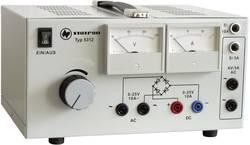 Alimentation de laboratoire réglable Statron 5312.1 0 - 25 V/AC 10 A 530 W Nbr. de sorties 3 x