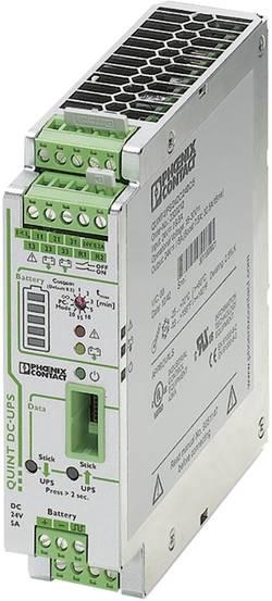 Onduleur (UPS) industriel - Installation (rail DIN) Phoenix Contact QUINT-UPS/ 24DC/ 24DC/ 5
