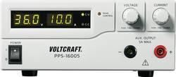 Alimentation de laboratoire réglable VOLTCRAFT PPS-16005 1 - 36 V/DC 0 - 10 A 360 W USB, Remote programmable Etalonné se