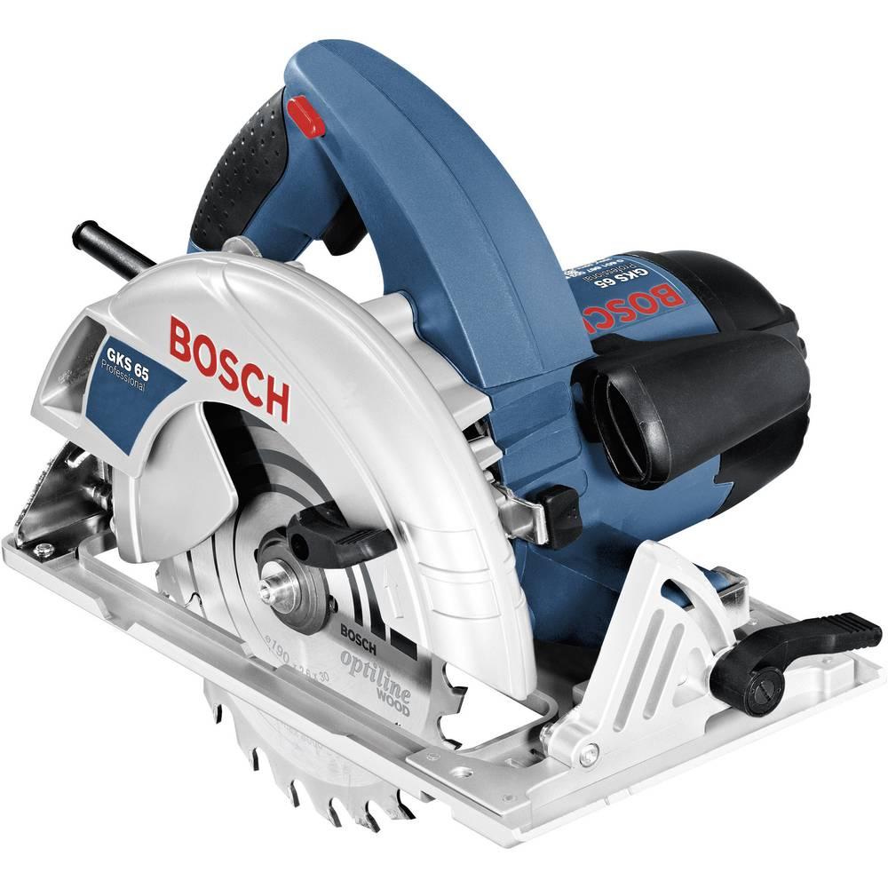 scie circulaire manuelle 190 mm bosch professional gks 65 0601667001