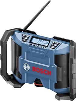 Radio de chantier FM Bosch Professional GML 10,8 V-LI bleu, noir