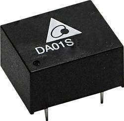 Convertisseur CC/CC pour circuits imprimés Delta Electronics DA01S1215A Nbr. de sorties: 1 x 15 V/DC 67 mA 1 W 1 pc(s)