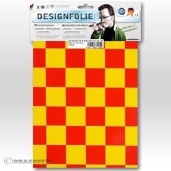 Feuille de conception Oracover Easyplot Fun 3 87-033-023-B (L x l) 300 mm x 208 cm jaune-rouge